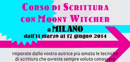 Moony Witcher organizza un Corso di Scrittura presso Arigraf Milano