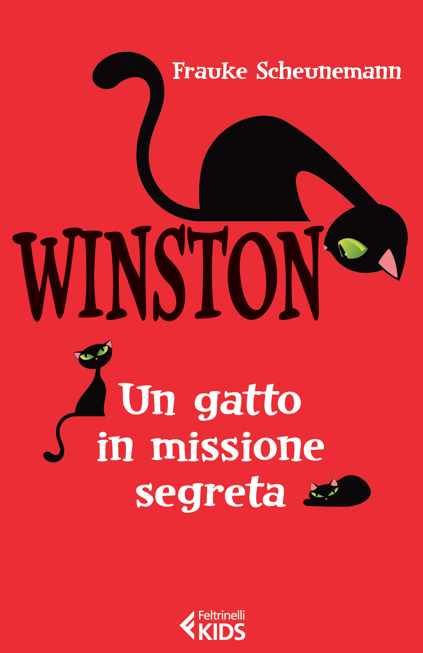 Winston, un gatto in missione segreta di Frauke Scheunemann