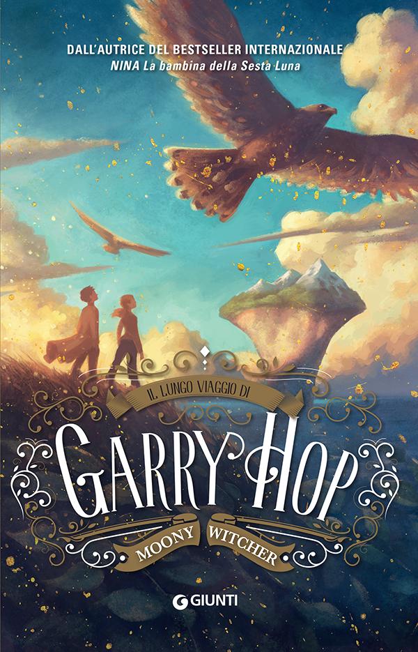 copertina Il lungo viaggio di garry Hop MOONY WITCHER