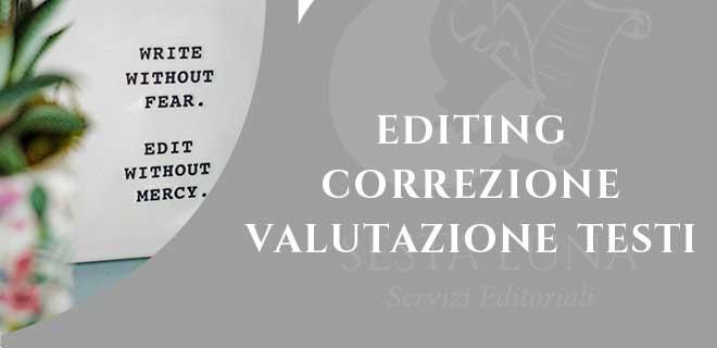 servizi editing correzione bozze e valutazione testi con moony Witcher