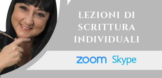 Lezioni di Scrittura Individuali su Skype O ZOOM